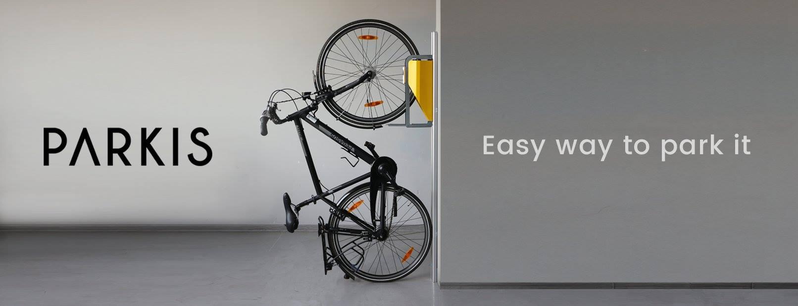 PARKIS aparcar bicicleta en vertical